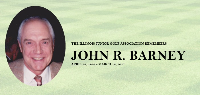 Former IJGA Executive Director John Barney passes away at age 90