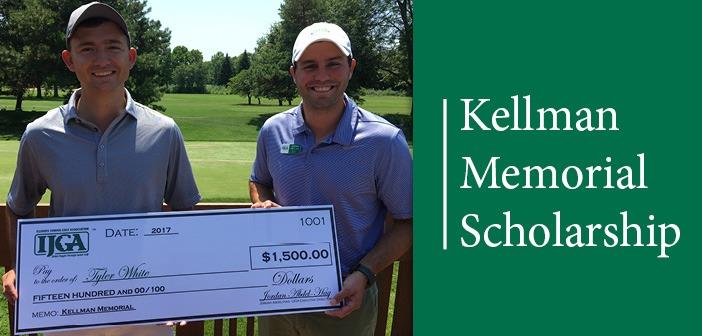 Tyler White Recipient of Kellman Memorial Scholarship