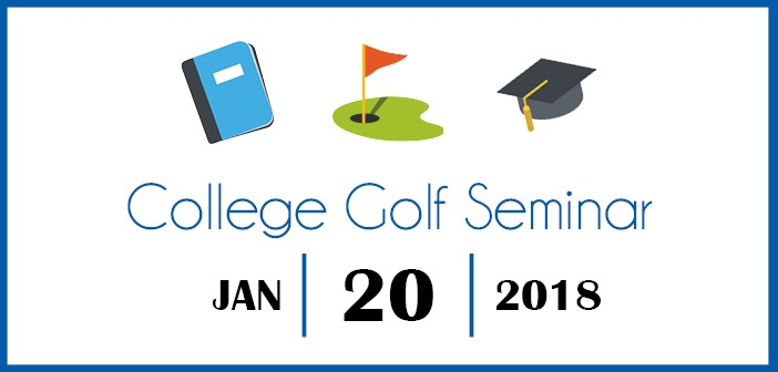 Waiting List Spots Available for the College Golf Seminar